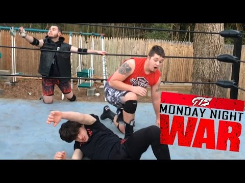 CRAZY KID ALMOST DIES TRYING TO WIN CHAMPIONSHIP WRESTLING MATCH!
