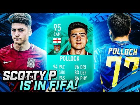 SCOTT POLLOCK IS IN FIFA 19!!!