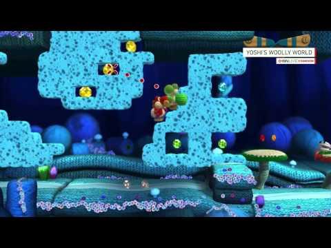 Yoshi's Woolly World Gameplay Demo – IGN Live Gamescom 2014