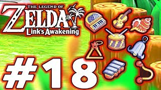 The Legend of Zelda Link's Awakening - Part 18 - All the Instruments!