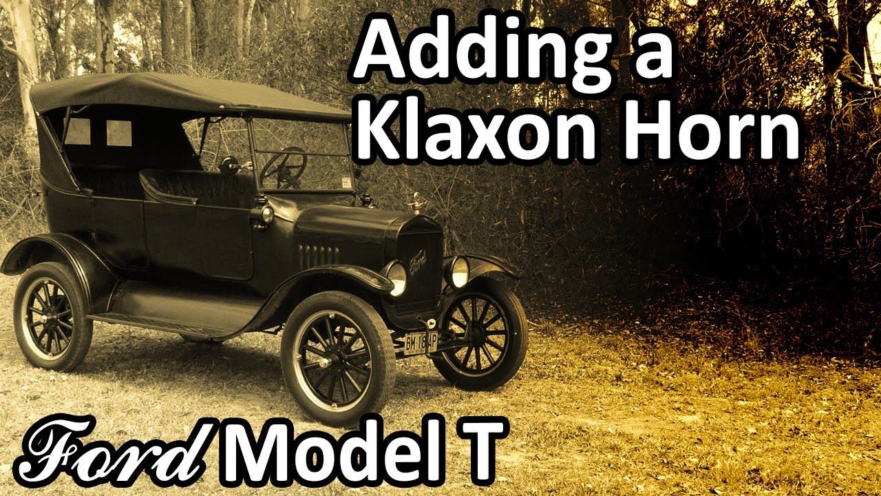 ford model t - klaxon