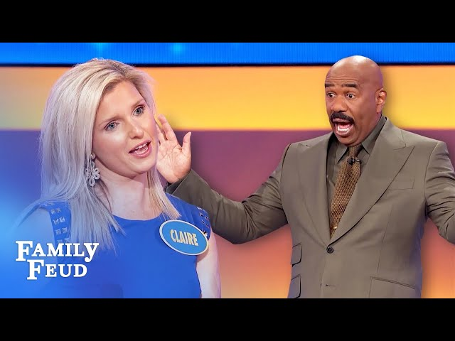 Priceless relationship advice from Steve Harvey! | Family Feud