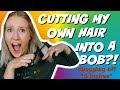 CUTTING MY OWN HAIR?!