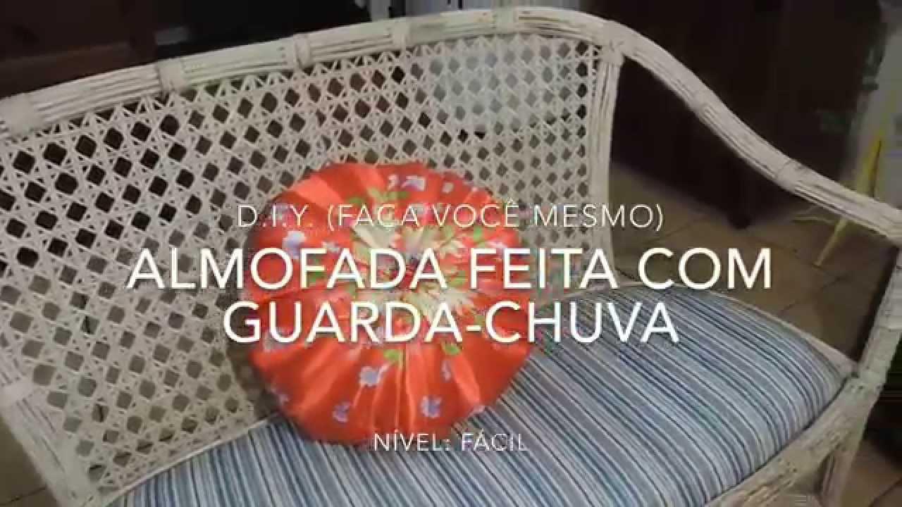 Bolsa Feita Com Pano De Guarda Chuva : Almofada feita com guarda chuva d i y fa?a voc? mesmo