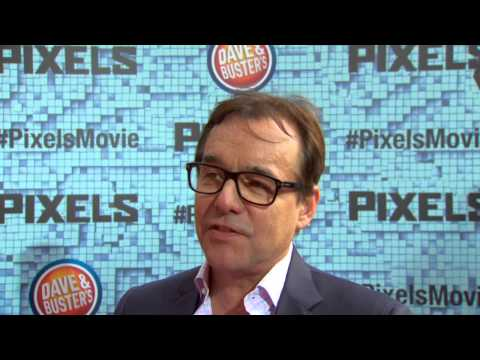 Pixels: Director Chris Columbus NYC Red Carpet Premiere Interview