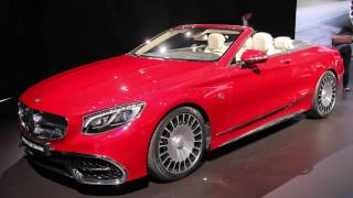 2018 Mercedes-Maybach S650 Cabriolet Preview