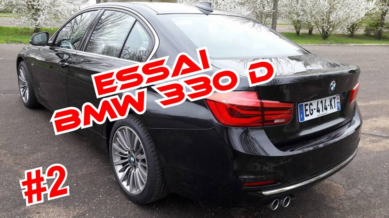 essai serie 3 bmw 330d 258ch luxury xdrive 2 2 youtube. Black Bedroom Furniture Sets. Home Design Ideas