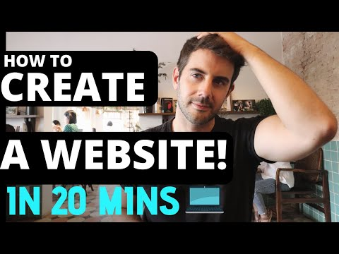 How To Create A Website In 20 Minutes | Simple And Easy