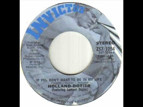 Holland Dozier - If You Don't Want To Be In My Life.wmv