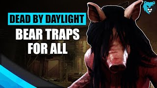 Everyone Gets a Bear Trap | Dead by Daylight Killer The Pig Gameplay