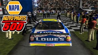 Fontana: Jimmie Johnson'S First Win! | Flashback Friday | Nascar Thunder 2003