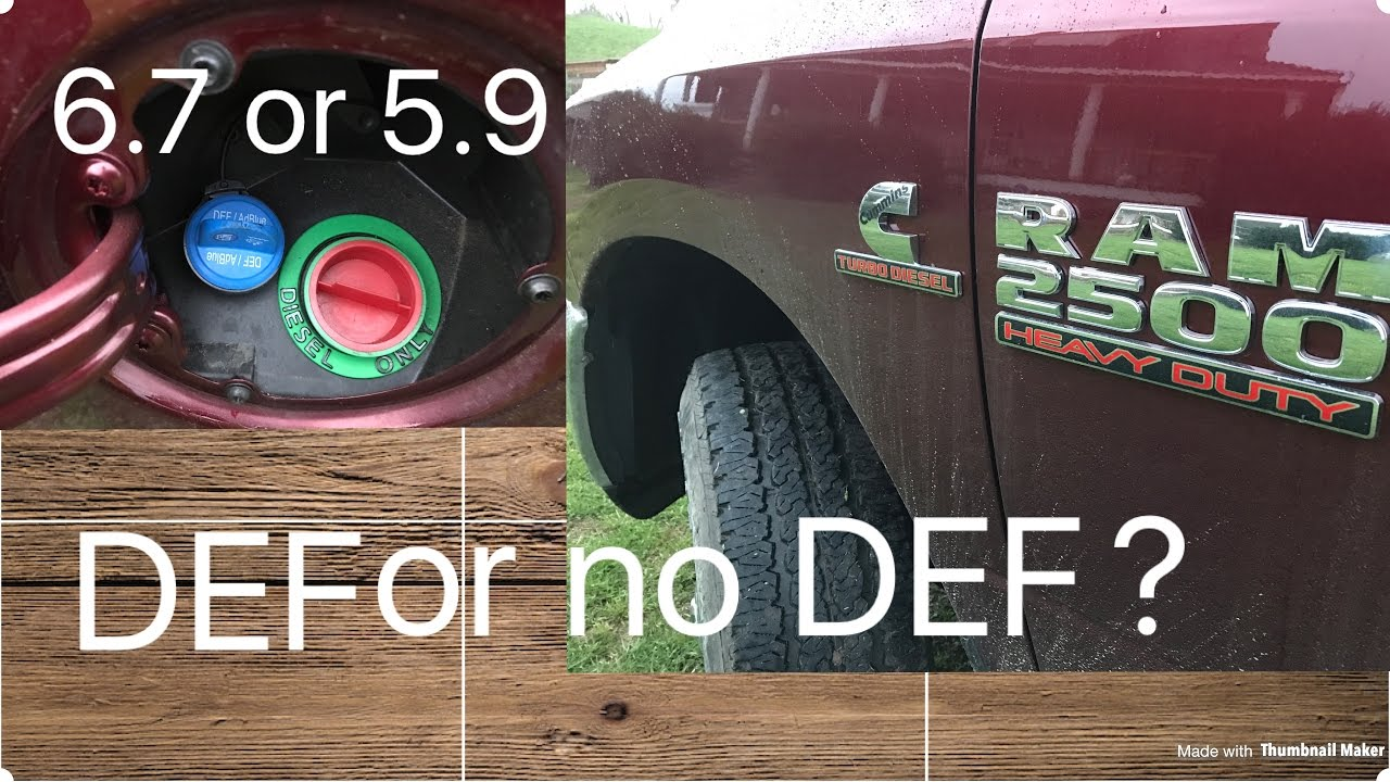 Top reasons why I liked my 5.9 cummins better than the 6.7