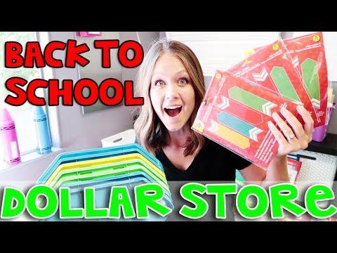 Dollar Store Haul   Teacher Vlog