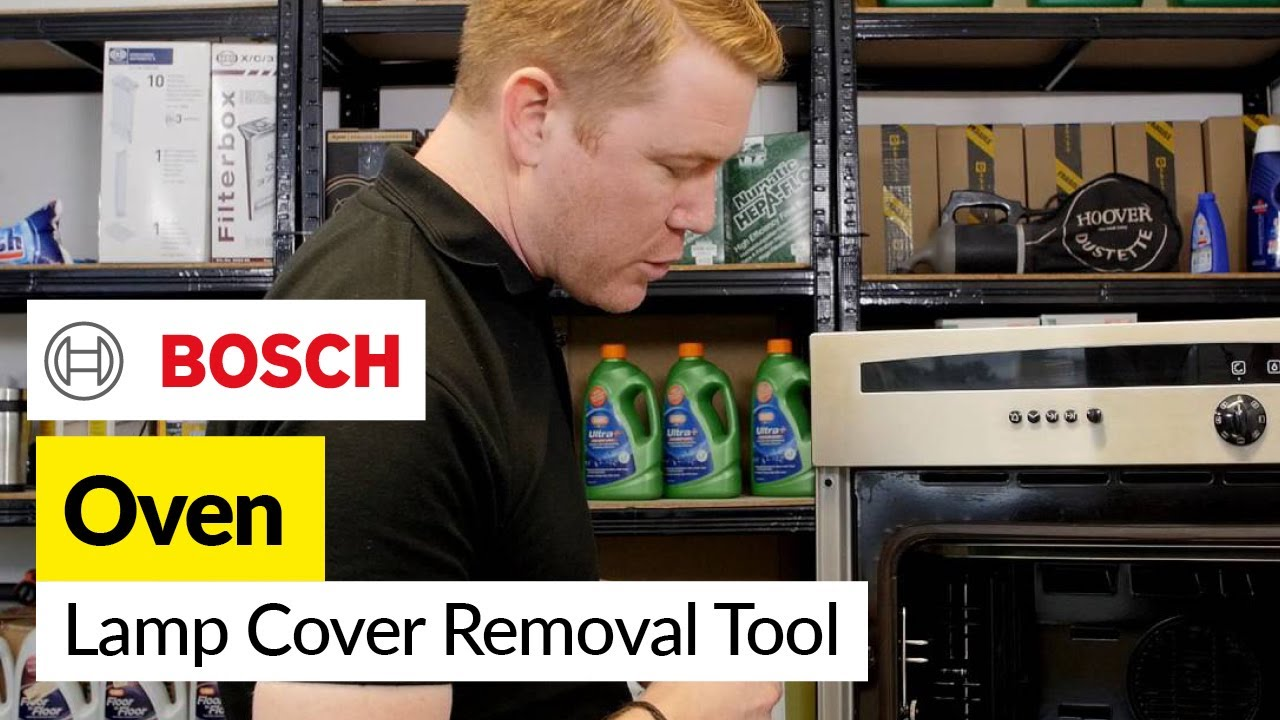 Lamp Cover Removal Tools For Bosch Neff And Siemens Ovens