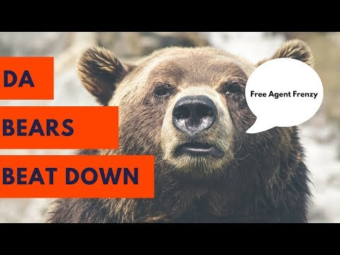 Free Agent Frenzy for the Chicago Bears