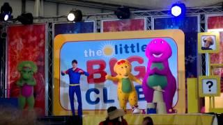 Butlins 2011- Barney dino dance