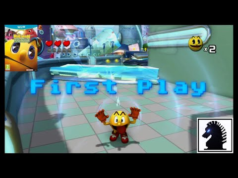 Wii U First Play - Pac-Man And The Ghostly Adventures