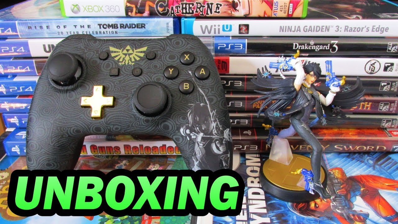 Unboxing Wired Controller Plus Amiibo Youtube