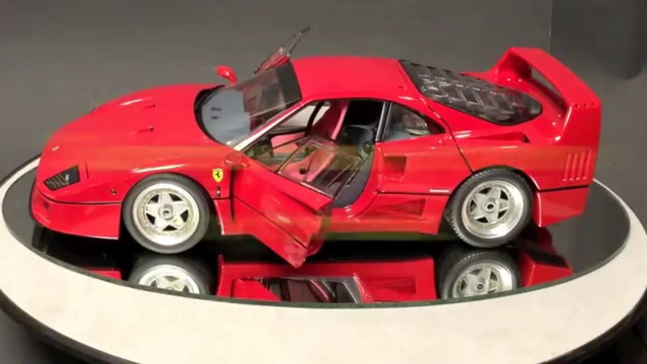 1 18 ferrari f40 by kyosho review youtube. Black Bedroom Furniture Sets. Home Design Ideas