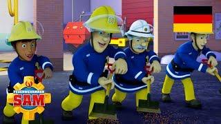 Feuerwehrmann Sam Deutsch Neue Folgen | Beste Teamwork-Löschungen - Neue Saison 🚒 Kinder Cartoon