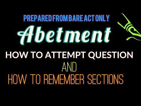 Abetment (Sec107 to120) Hindi/Urdu felony, general criminal law, criminal law subjects, crimes acts