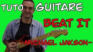 "Cours de guitare ""Beat it"" - Michaël Jackson"
