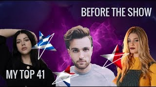 Eurovision 2019 - My Top 41 - With Rate - From Greece - Before The Show