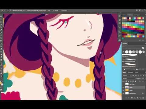 BLOOM SERIES #2: Photoshop Speed Painting