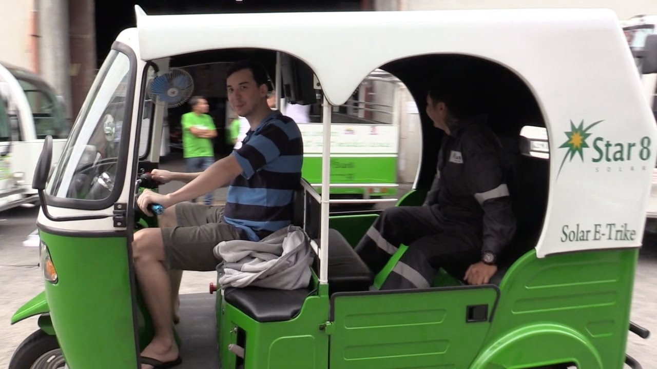 Star8 Solar Powered Electric Tricycle - Teaser