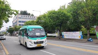 [대양운수] 동두천시 시내버스 2번 (동두천터미널.롯데…