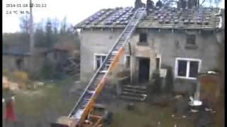 wymiana dachu Dolice 2014 / bańburski dachy