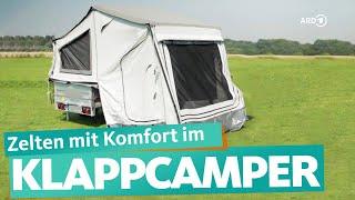 Faltcaravan – günstige Alterฑative zum Wohnwagen | WDR Reisen