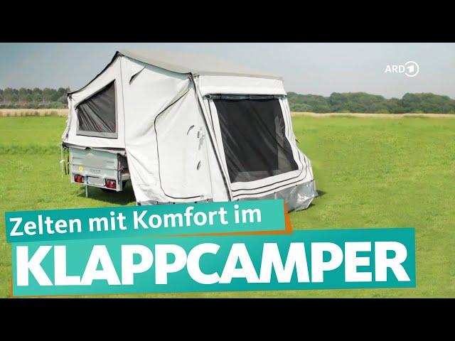 Faltcaravan – günstige Alternative zum Wohnwagen    WDR Reisen
