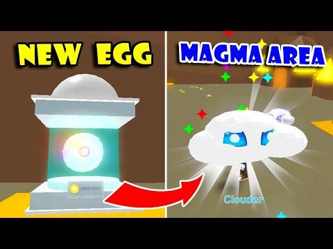 GOT 3 *NEW* GHOST PETS, WILD PET (Butterfly) AND MAGMA VALLEY AREA In PET TRAINER UPDATE!! (Roblox)