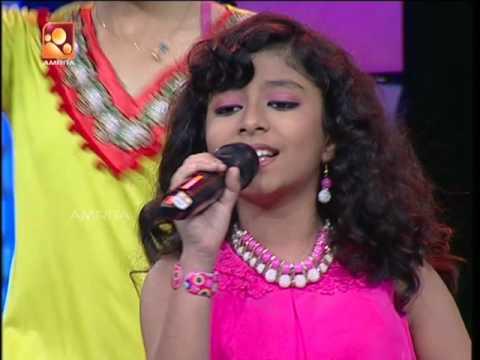Super Star Junior - 5 | Henniza Fathima singing - chittiyan kalaiyan ve