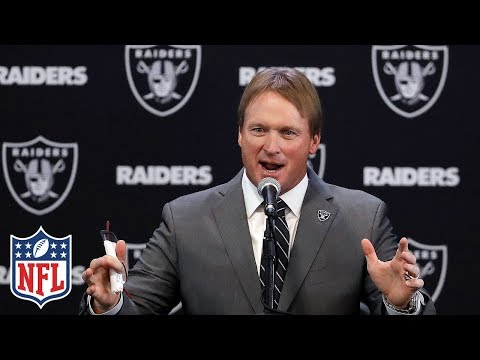 Jon Gruden duced as Raiders Head Coach,