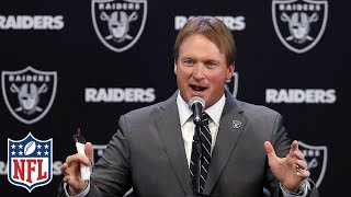 "Jon Gruden Introduced as Raiders Head Coach, ""I want to win"" 