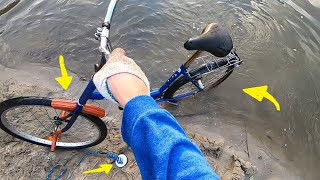 Magnes neodymowy - wyłowiłem swój rower