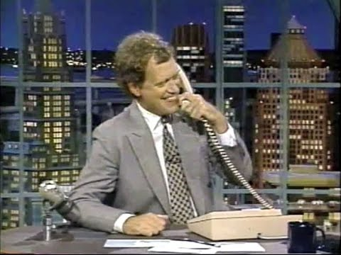 Dave's Calls to Mom Collection on Late Night, 1990-93