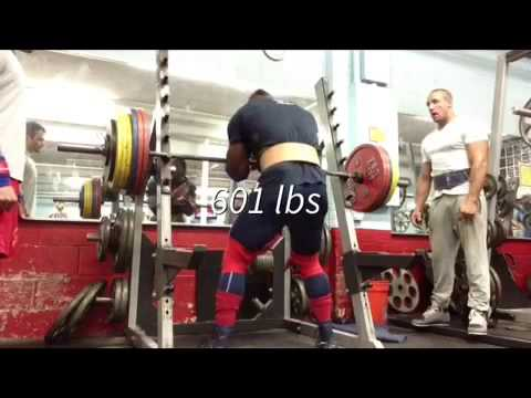 Kevin Oak 600 Lb Zercher Squat Youtube