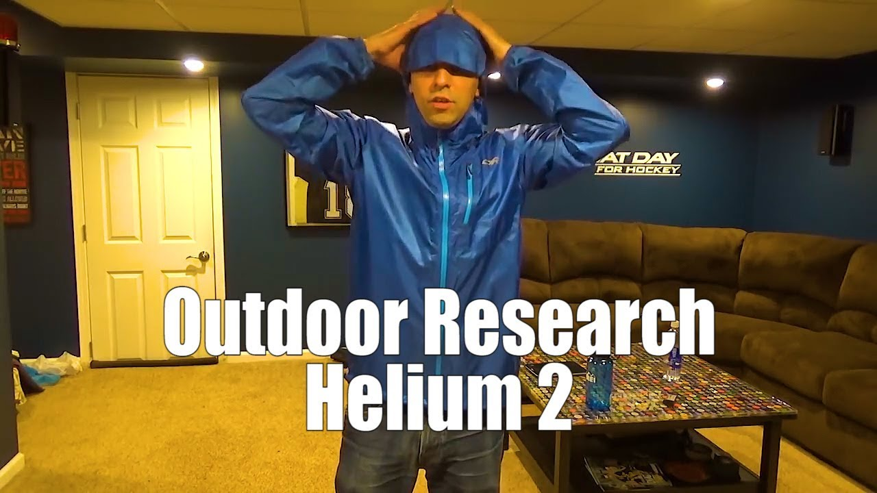 Outdoor Research Helium Ii Review Youtube