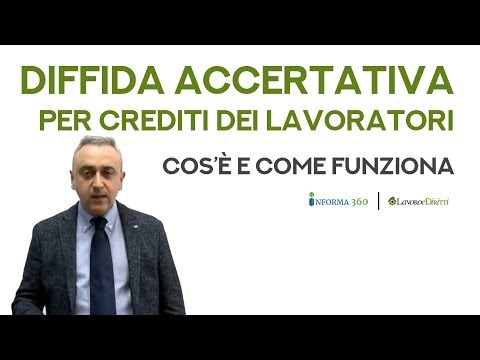 Diffida accertativa per crediti dei lavoratori, cos'è e come funziona