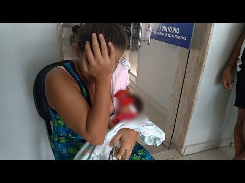 Mãe chora e pede ajuda para comprar remédio e alimento para bebê prematuro em Patos