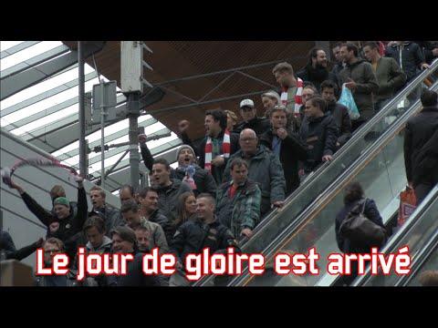 'Le jour de gloire est arrive' (Ajax - Olympique Lyonnais)
