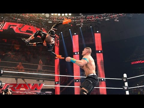 Thumbnail: John Cena vs. Stardust – United States Championship Match: Raw, April 6, 2015
