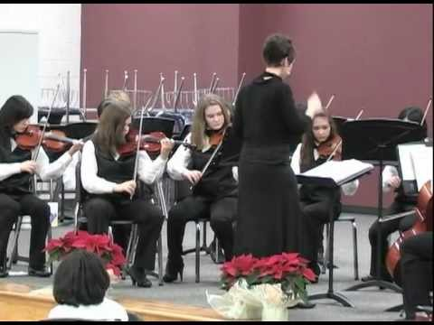 The Nutcracker perf. by Ulrich Intermediate School Chamber Orchestra Winter 2011