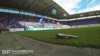 Choreo+Stimmung 1. FC Magdeburg gegen Chemnitzer FC (HD Mai 2018)