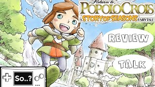 REVIEW TALK: Return to PopoloCrois: A Story Of Seasons Fairytale (3DS)