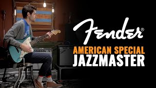Fender American Special Jazzmaster Guitar Demo (Chicago Music Exchange Exclusive)