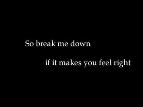 breakdown - seether w/lyics